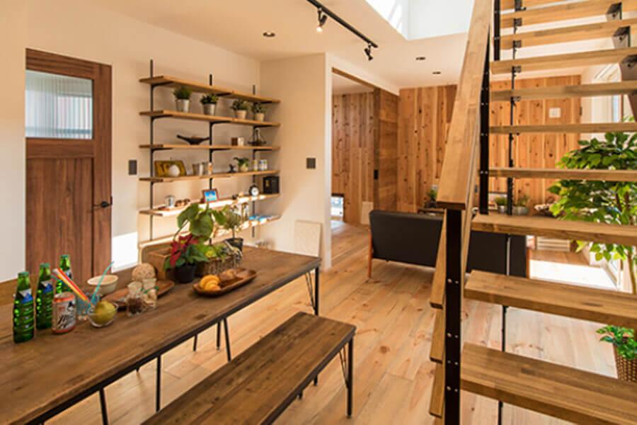 スタイリッシュで暮らしやすい企画住宅「BBH」(ブロックボックスハウス)
