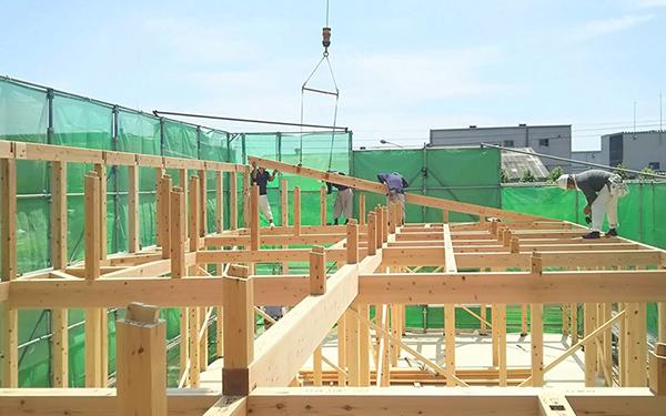 STEP13 着工・基礎工事~上棟~竣工