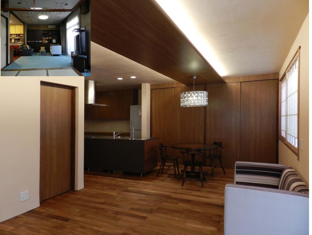 【予約制体感ハウス見学会】築40年の住宅を和風モダンな空間に変えたリノベーション住宅