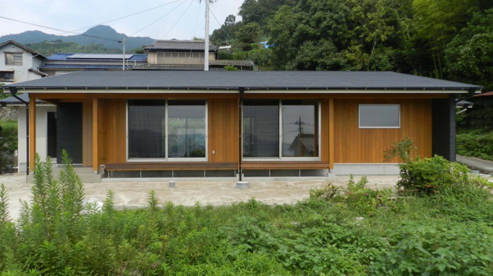杉と土佐和紙の家